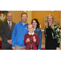 Catherione Murphy, her parents with Mrs Donnelly & Mr Cush