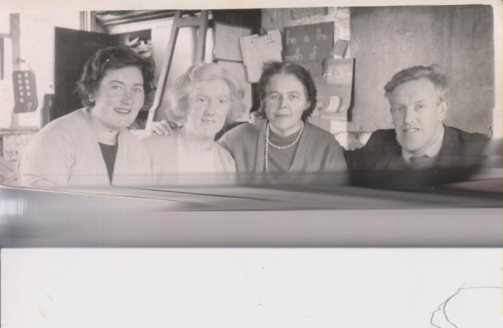 1964 'Green Hut' Mary (Fox) Morris, Mary Alice Daly, Patsy Donnelly & John Gervin