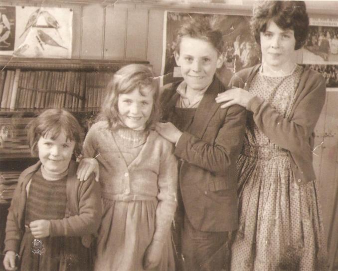 1960's Kathleen, Marian, Arthur & Briege McCallan