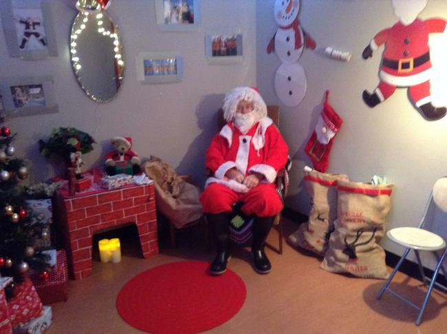 St Comgall's Santa