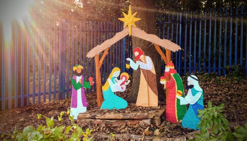 St Cross Nativity Scene