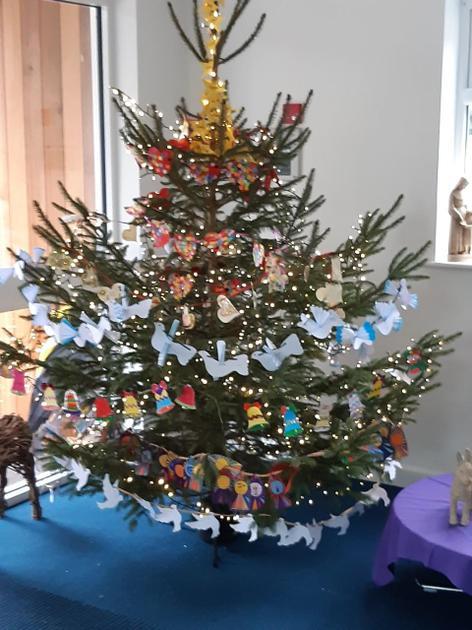 St. Cross Christmas Prayer Tree