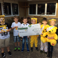 Children in Need 2016. A Fantastc amount raised.