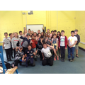 Class 5 say a final goodbye to their classroom