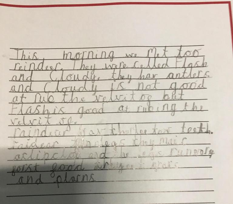 More wonderful Cloudy and Flash inspired writing!