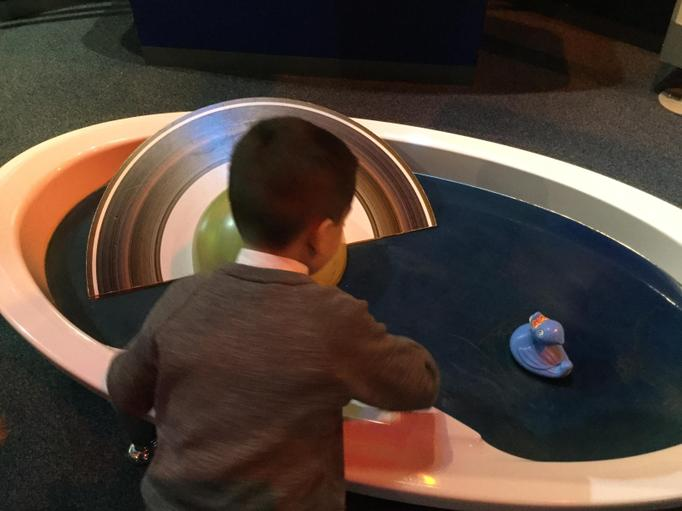 Visiting the Space Centre