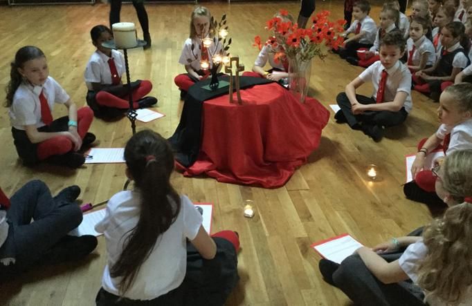 KS2 Remembrance Liturgies 2019