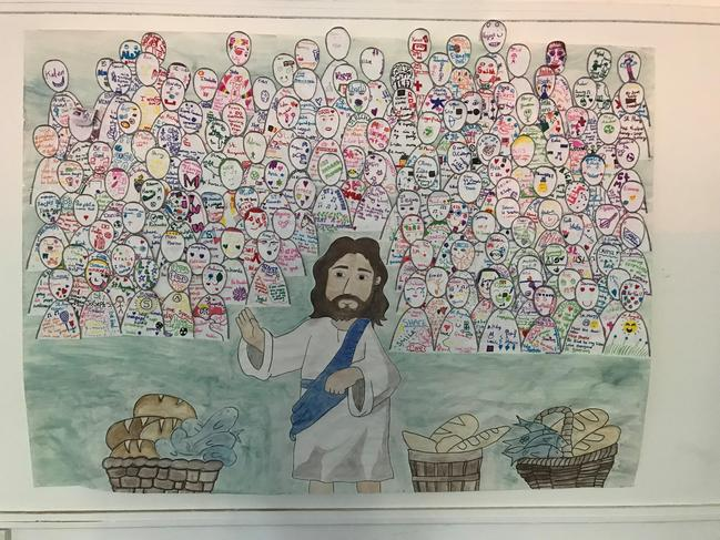 """Harvest Festival Mass-St Edmund's host Primary feeder Catholic Schools. Reflection """"How are we followers of Christ?"""""""