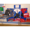 Forster's Clothing came to show our school uniform