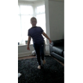 Alfie practicing balance with RealPE