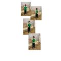 Filip practicing Makaton