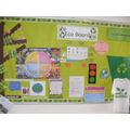 Our Eco board has been re vamped to highlight all our work.