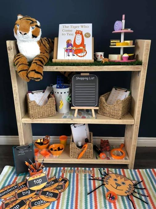 Can you make your own story telling shelves?