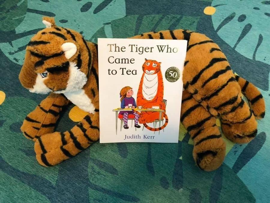 Do you have any tiger toys at home?