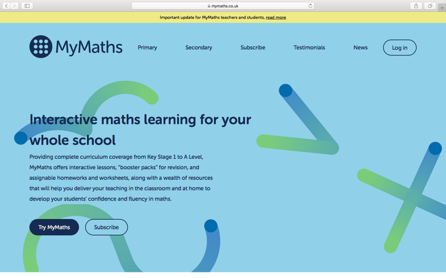 Search My Maths - https://www.mymaths.co.uk/