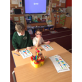 Practising addition