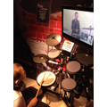 Playing the drums with Ringo!