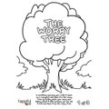 Draw, sketch or paint your own worry tree!
