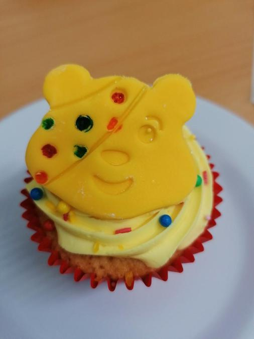 Pudsey Cupcakes