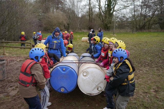 Getting ready to launch! PGL. Year 4