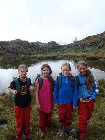 Snowdonia. Smile girls!