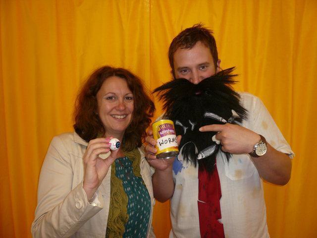 Mr & Mrs Twit. Roald Dahl Day!