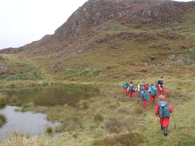 hiking at Snowdonia. Year 6