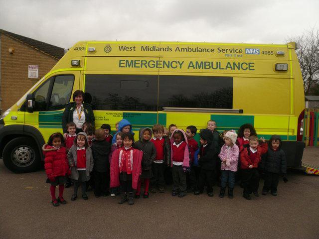Nursery talk to the medics!