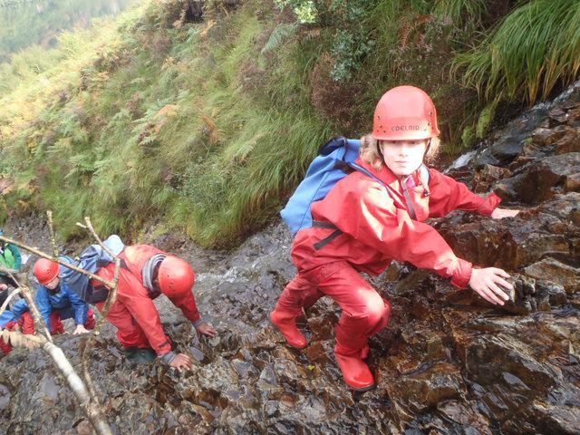 Snowdonia. Climbing high!