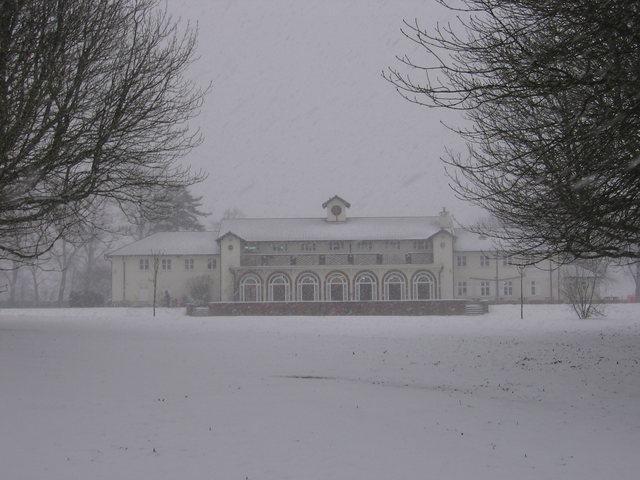 RowHeath one snowy day!