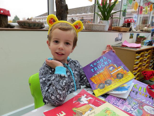 Archie during Children In Need day