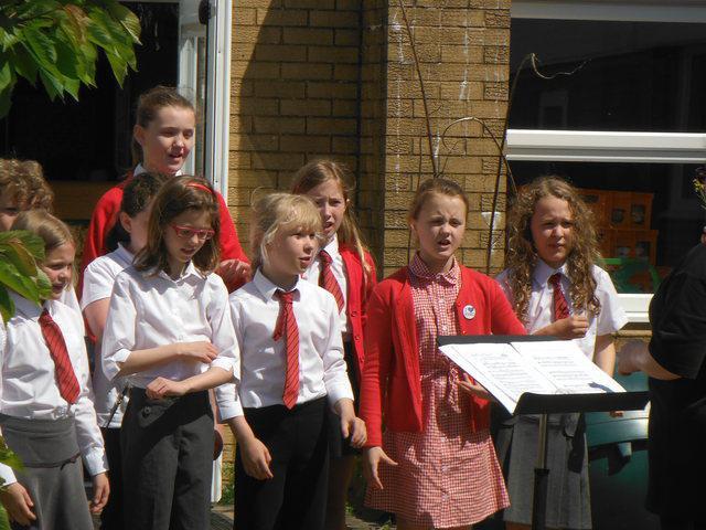 Choir at our Summer Fayre