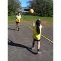 Netball skills - a variety of passes!