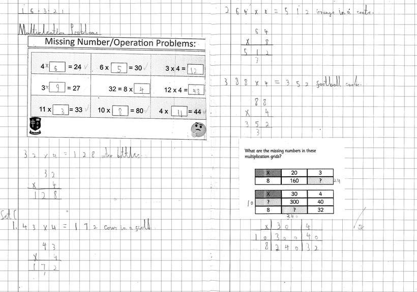 Independent Multiplication: Problem Solving