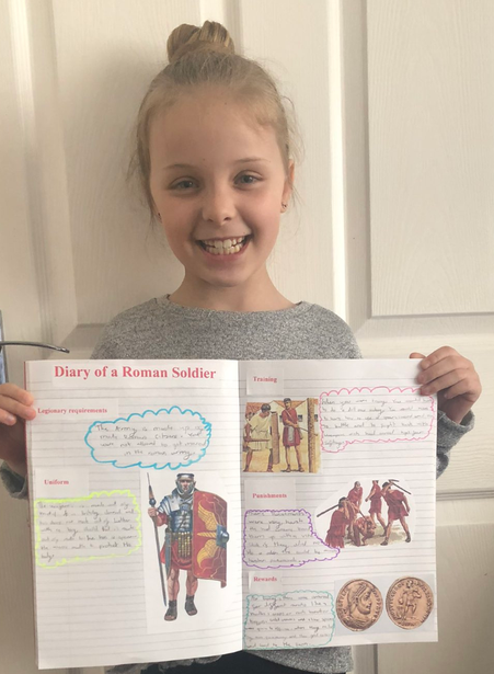A wonderful piece of work from Lily!