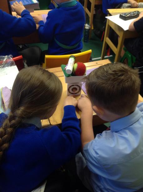 Developing measuring skills.