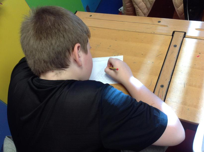 Independently completing a challenge on Pascal's trianglee