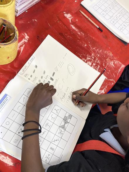 Identifying simple geometric shapes