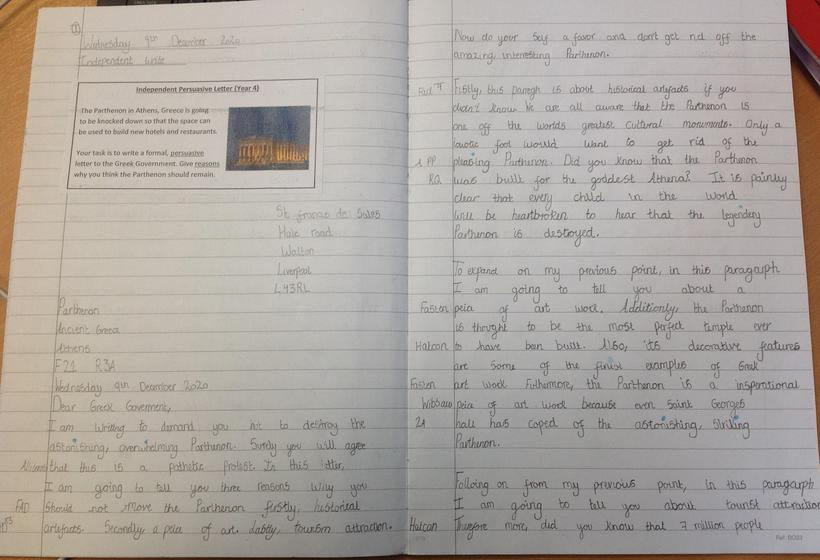 Persuasive Letter Final Independent Write Part 1