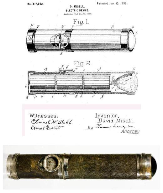 David Misell's original 1899 torch design