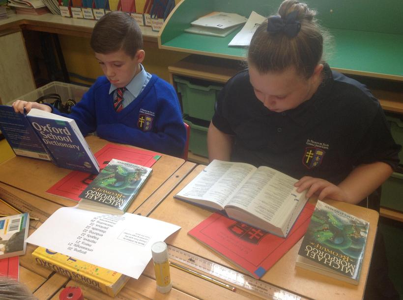 Exploring the vocabulary in 'Beowulf'