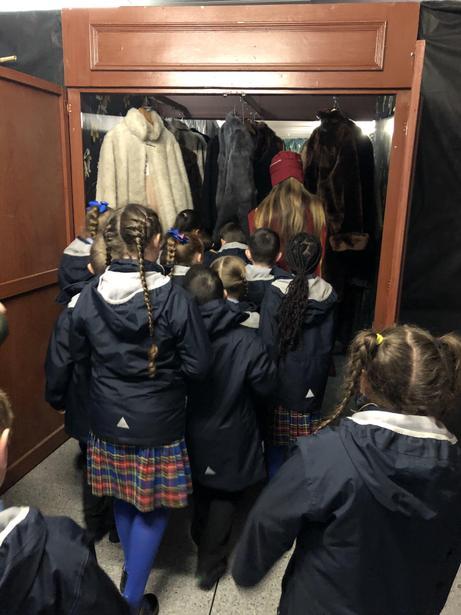 Entering Narnia through the wardrobe