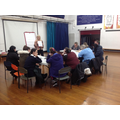 Parent workshop with the ASD training team