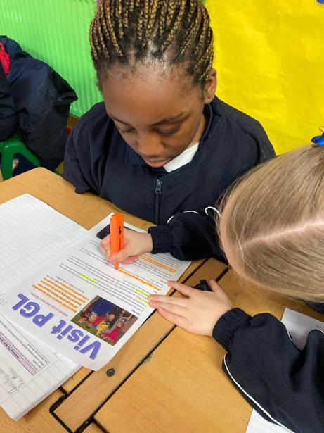 Analysing the key features of a persuasive leaflet