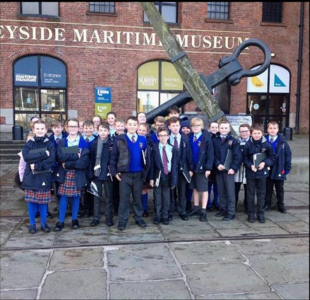 Year 6 visit the International Slavery Museum