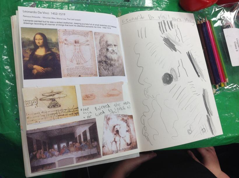 Leonardo da Vinci techniques