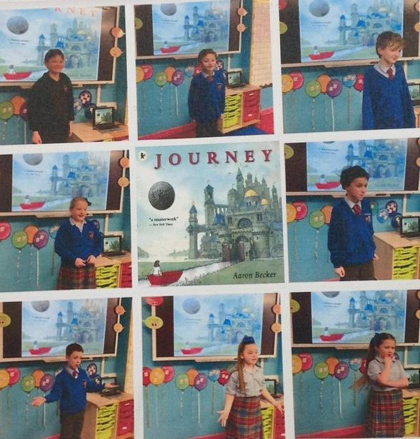 Sharing out interpretations of Journey