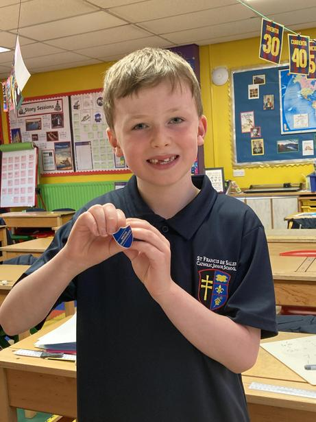 One of our Year 4 Maths Ambassadors