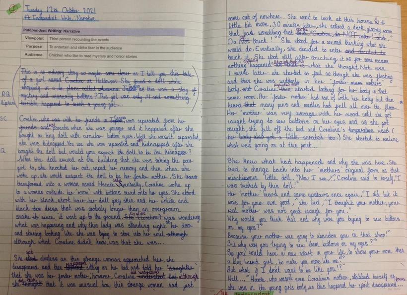 Narrative: Independent Write