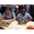 Year 5 - Creating our hots wraps